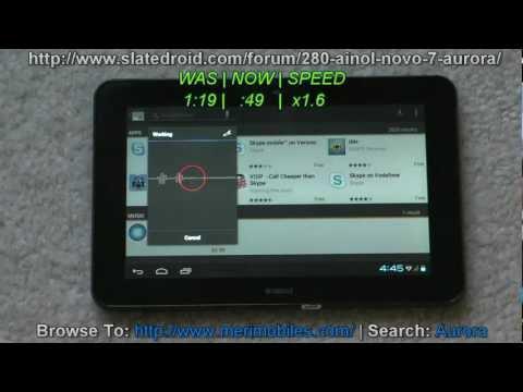 Ainol Novo 7 Aurora - First Review & ICS Guide - 7