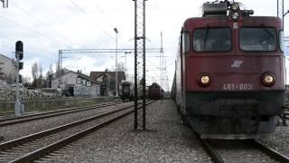 Petrovaradin Serbia  City pictures : Petrovaradin,serbia trains,speed trains vozovi u srbiji