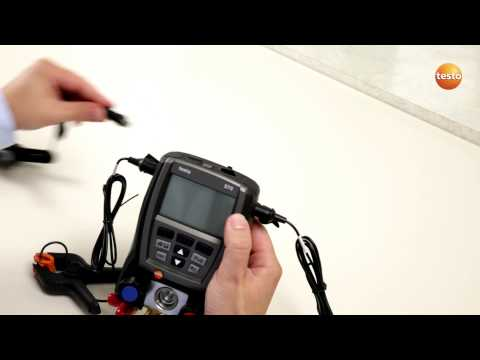 testo 570 - Step 1 - Starting The Device
