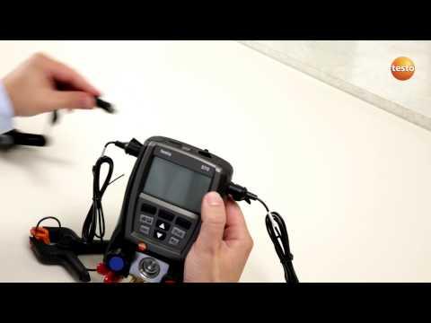 testo 570 - Step 1 - Starting The Device