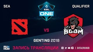 Ang game vs BOOM ID, ESL One Genting SEA Qualifier, game 1 [Mortalles]