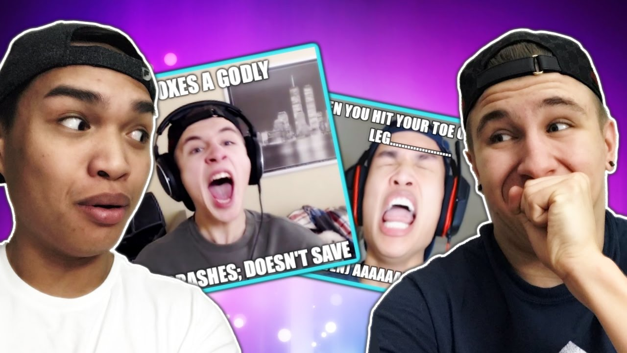 Reacting to FUNNY MEMES about us!