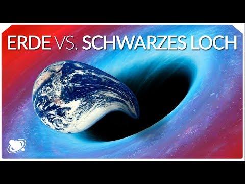 Schwarzes Loch gegen Erde | Was würde passieren?