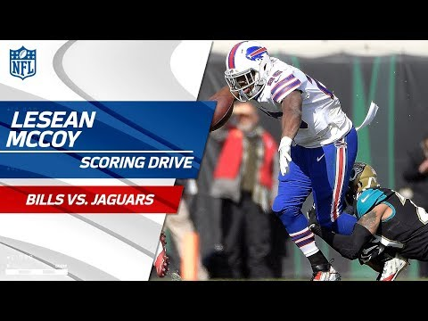 Video: LeSean McCoy & Tyrod Taylor Lead Buffalo on Scoring Drive | Bills vs. Jaguars | NFL Wild Card HLs