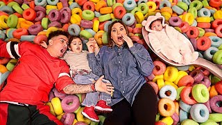 Video GETTING STUCK IN A BOWL OF CEREAL!!! MP3, 3GP, MP4, WEBM, AVI, FLV Desember 2018