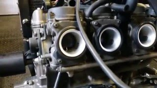 6. Honda Hornet Carb Issues