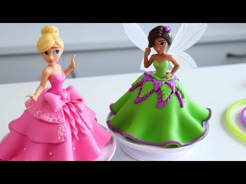 EASIEST PRINCESS CAKES You Will Ever Make! 👑