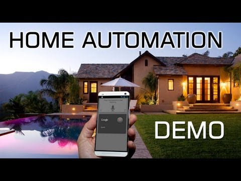 automation - Android is a very powerful platform and the possibilities are endless. Here is a short demo of my home automation using voice control and NFC to take control...