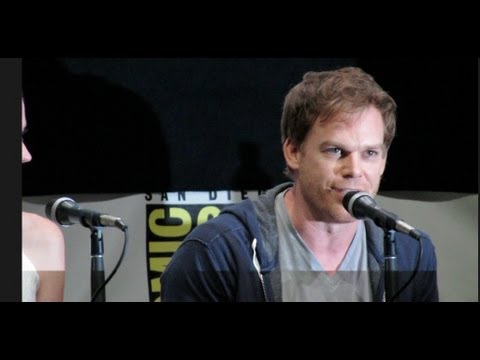 Dexter Cast confessions at Comic-Con 2013 Michael C Hall