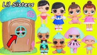 Video LOL SURPRISE DOLLS Sparkles at Magical House and find Custom Lil Sisters with Luxe Unicorn Pets MP3, 3GP, MP4, WEBM, AVI, FLV Agustus 2018