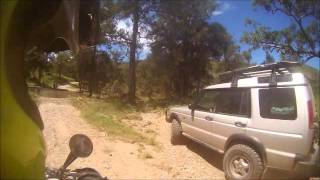 7. KTM 950 Super Enduro Creek Crossing