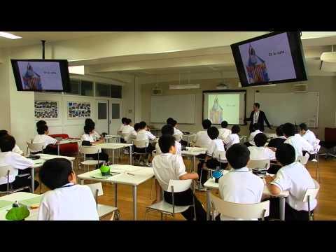 広島城北中学校ディスカバリールーム