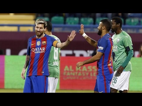 [HIGHLIGHTS] Friendly In Qatar: Al-Ahly - FC Barcelona (3-5)