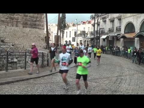 VIDEO - Jerusalem Marathon in 60 Seconds