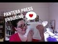 PANTERA PRESS UNBOXING!!