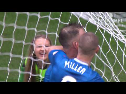 Watch Clint Hill goal that ended Celtic record