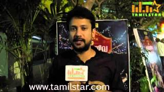 Deepak Dinkar at Ivanuku Thannila Gandam Audio Launch