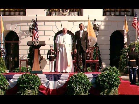 教宗訪美不避諱爭議 歐巴馬也鼓掌[影]
