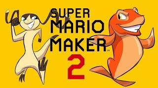 Super Mario Maker 2 SINGLE PLAYER RACE with FishyFisher! by SkulShurtugalTCG