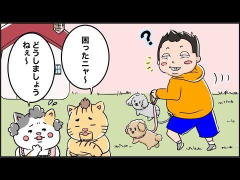 猫家族との出会い(メッキ剥がれ編)マンガでわかるFAQ第6話