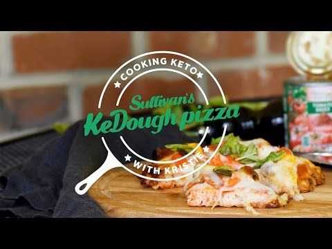 Cooking Keto With Kristie: KeDough Pizza