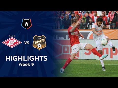 FK Spartak Moscow 1-2 FK Ural Yekaterinburg