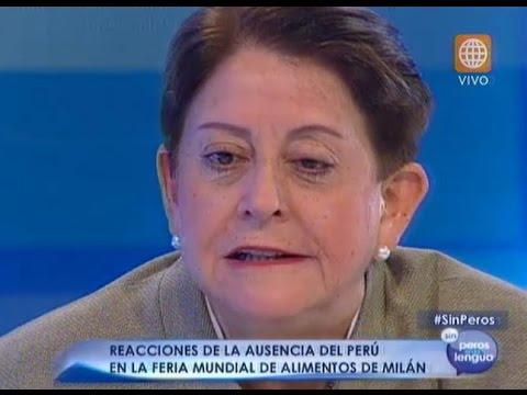 Lourdes Alcorta cuestionó a Rivas como embajadora de Perú en Italia