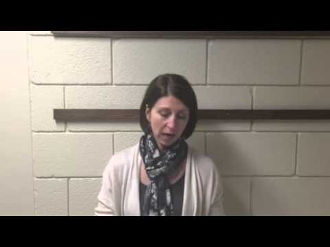 Coach Kim Wudi Recaps Volleyball Match at UM-Morris
