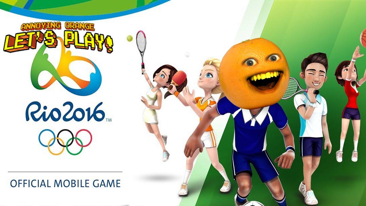 Annoying Orange plays – Rio 2016 Olympic Games