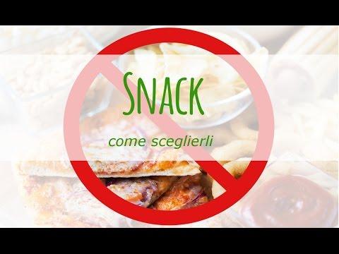 quali sono le alternative migliori agli snack per lo spuntino?