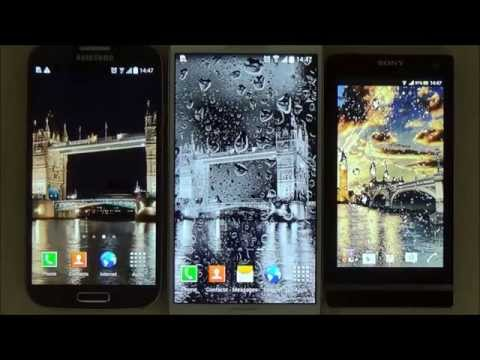 Video of Rainy London Live Wallpaper