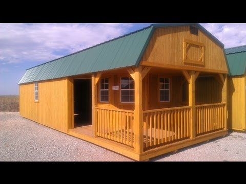 homes - They make these in every state! The last video was in NC this is South West OK. This cabin is as affordable as a car payment and you own it! Lots of room too...