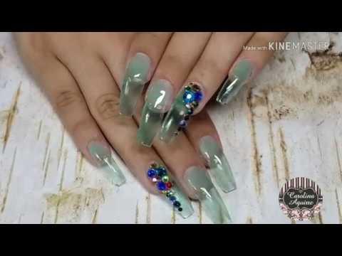 Videos de uñas - Uñas Acrilicas jelly de moda