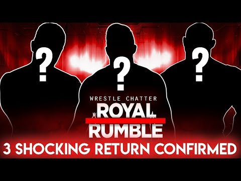 3 Huge Superstars Return Confirmed At Royal Rumble 2018 Or In 2018 | WWE Shocking Returns In 2018