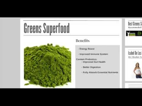 Best Green Superfood Drink