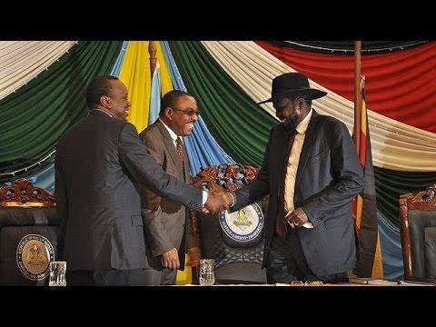 Νότιο Σουδάν: Υπέγραψε ο πρόεδρος τη συμφωνία ειρήνης με τους αντάρτες