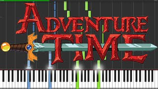 Adventure Time Medley [Piano Tutorial] (Synthesia)