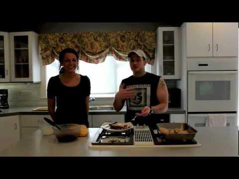 Healthy Frugal Recipe: Baked Chicken w/ Cranberry Orange Sauce