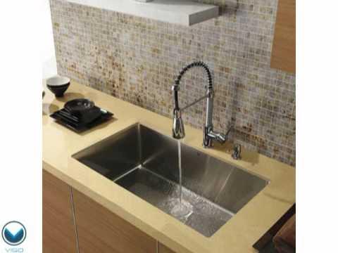 Video for 32-Inch Undermount Stainless Steel 16 Gauge Kitchen Sink