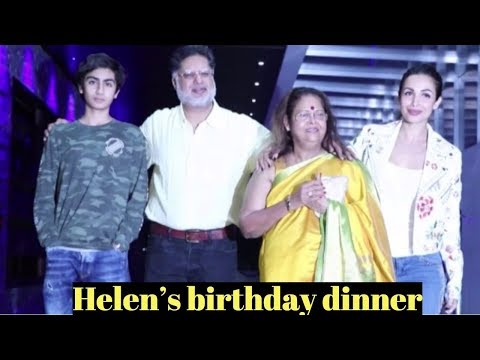 Malaika Arora and family attend Helen's birthday dinner At Hakkasan Mumbai