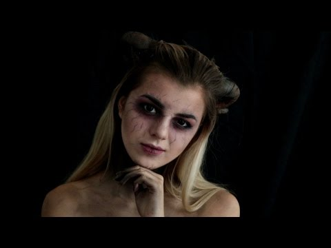 MAQUILLAGE D'HALLOWEEN: DEMON/DIABLE