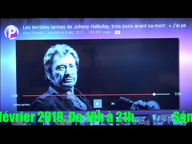 (J'ai peur de mourir)les horribles larmes de Johny Hallyday 3 Jours avant sa mort.