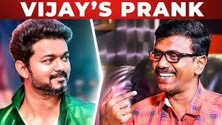 Video Thalapathy Vijay Pranked Me and Sneha | Cinematographer Balasubramaniem Reveals | SM 03 MP3, 3GP, MP4, WEBM, AVI, FLV Agustus 2018