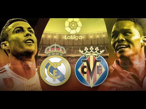 Real Madrid vs villareal//0-1 Highlights