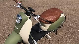 7. Custom Honda Metropolitan Scooter