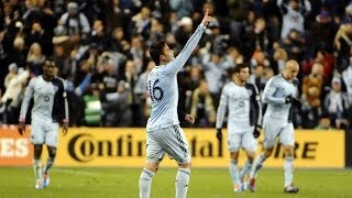 GOAL: Bieler scores the series winner | Sporting Kansas City vs New England Revolution