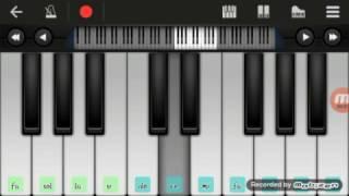 Video Not Piano - Virgoun Surat Cinta Untuk Starla ( Walk Band Tutorial ) tutorial Piano MP3, 3GP, MP4, WEBM, AVI, FLV April 2018
