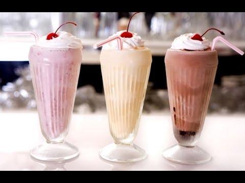 Easiest Milkshake Ever - 3 Ingredient Recipe ♥