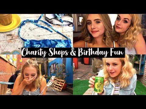 VLOG: Thrifting & Birthday Fun In Brighton