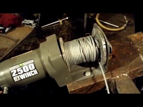 Harbor Freight Winch, 2500 Badlands With Wireless Remote Review